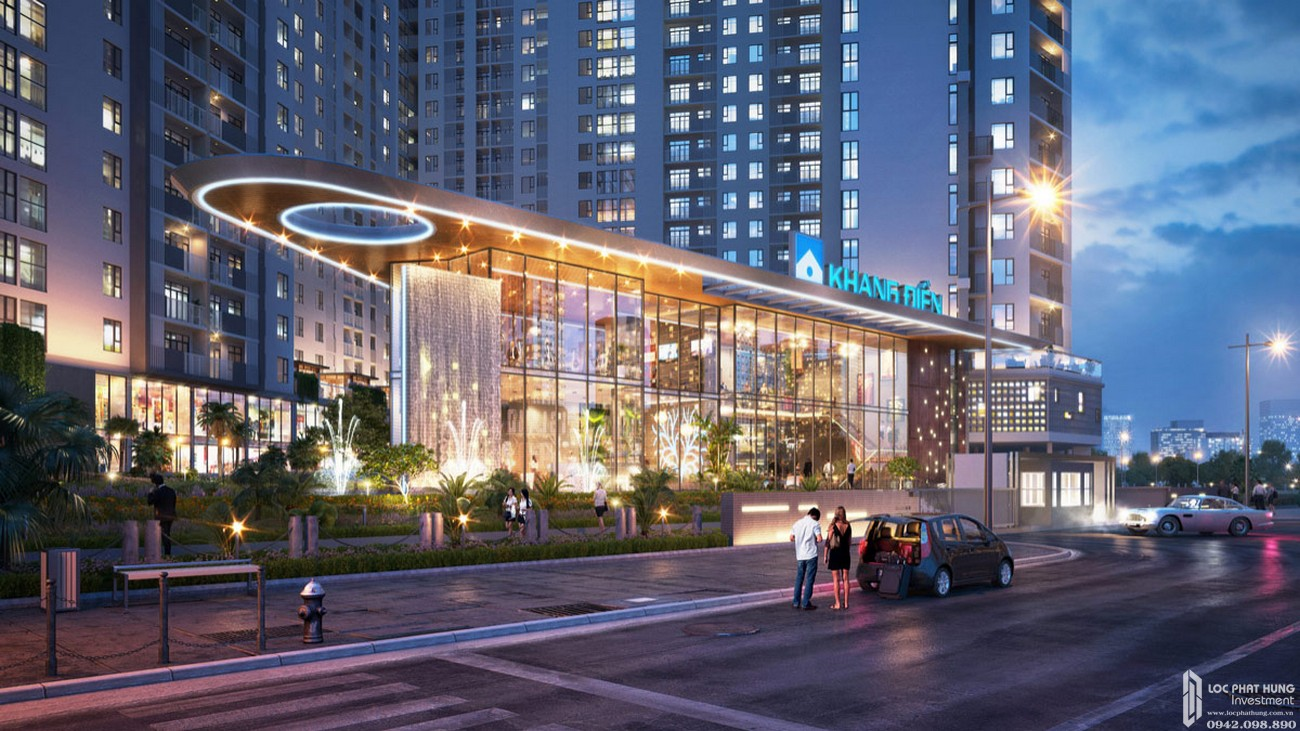 Phối cảnh dự án căn hộ chung cư Jamila Khang Điền Đường Song Hành chủ đầu tư Khang Điền Quận 9