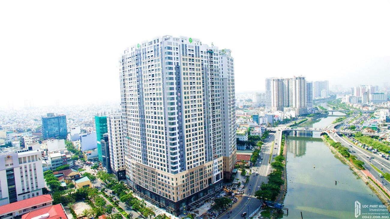 Hình ảnh thực tế dự án chung cư Sài Gòn Royal Quận 4