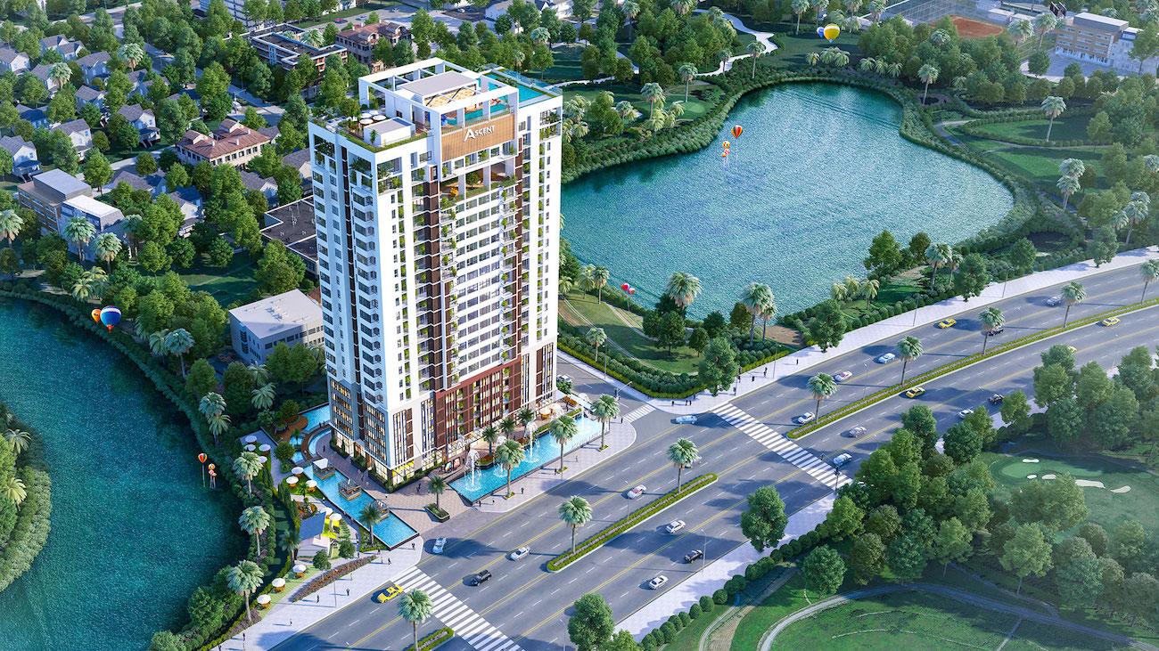 Phối cảnh tổng thể dự án Ascent Lakeside