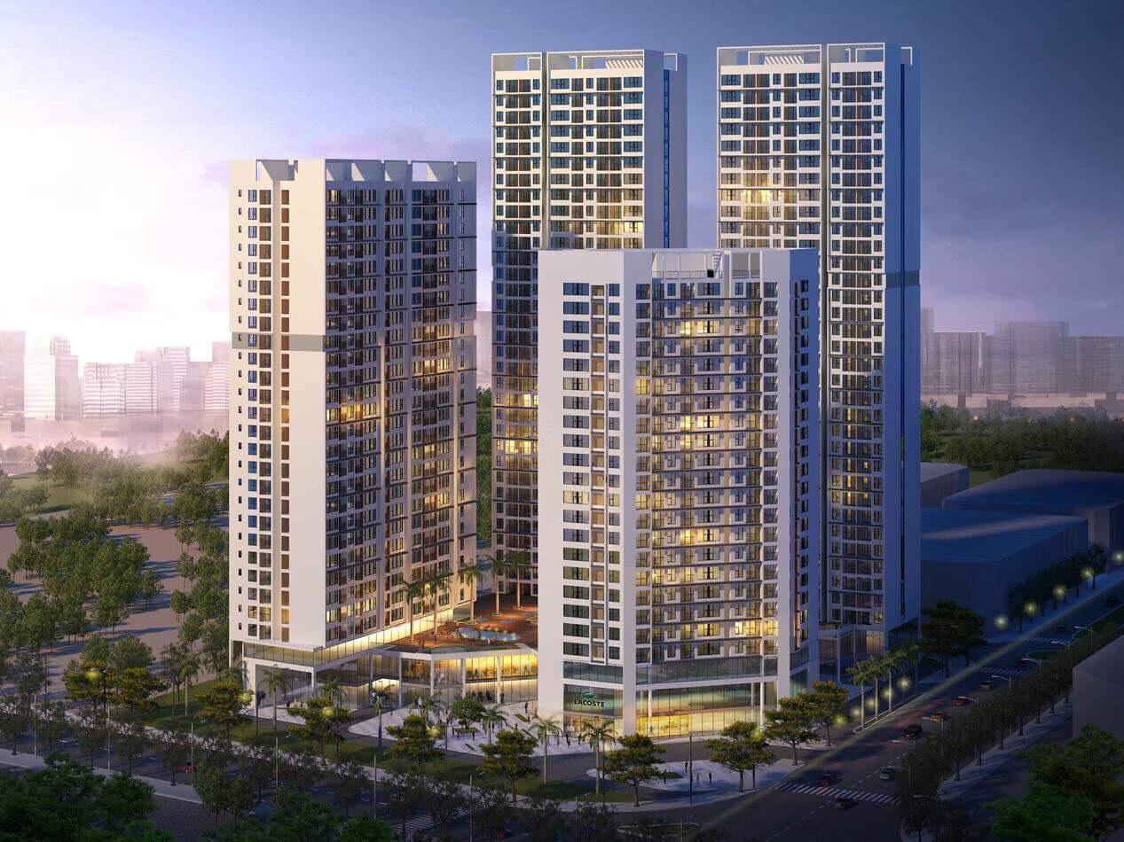 Phối cảnh dự án căn hộ chung cư Green Square Dĩ An Bình Dương