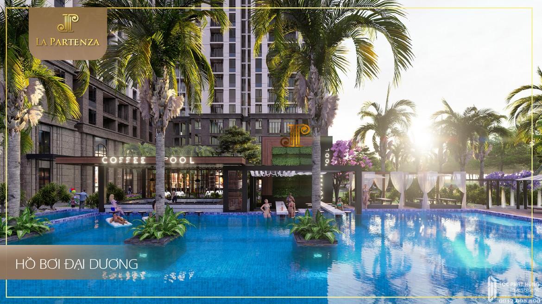 Hồ Bơi dự án căn hộ chung cư La Partenza Nhà Bè Đường Lê Văn Lương chủ đầu tư Khải Minh Land