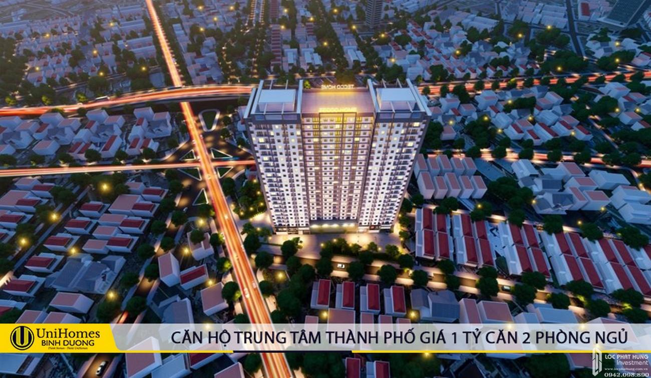 Phối cảnh dự án căn hộ Tecco Home Bình Dương