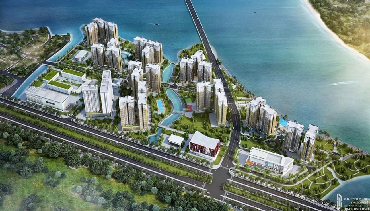 Phối cảnh dự án căn hộ Water Bay Quận 2 chủ đầu tư Novaland