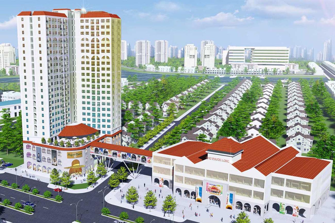 Phối cảnh tổng thể dự án viva plaza Quận 7