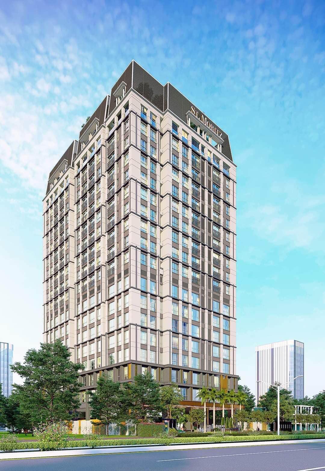 Quy mô chi tiết dự án căn hộ ST Moritz Quận Thủ Đức