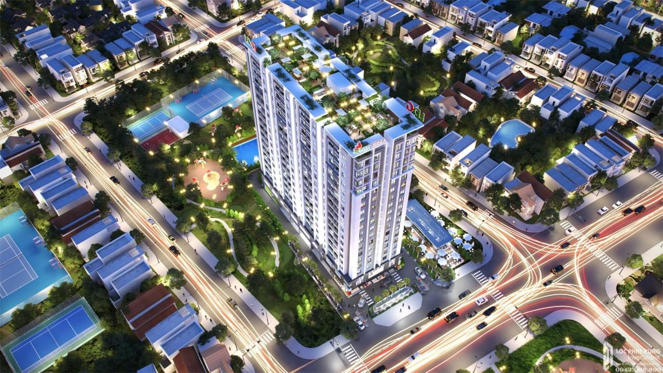 Phối cảnh dự án căn hộ West Intela Quận 8