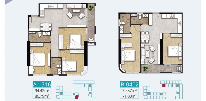 Thiết kế dự án căn hộ chung cư C River View Bình Dương Đường Trần Phú chủ đầu tư Quốc Cường Chánh Nghĩa