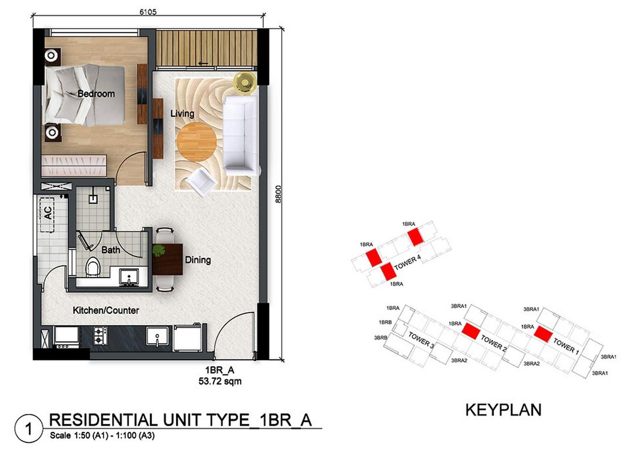 Thiết kế dự án căn hộ chung cư Dragon Riverside City Quận 5 Đường Võ Văn Kiệt chủ đầu tư Phú Long