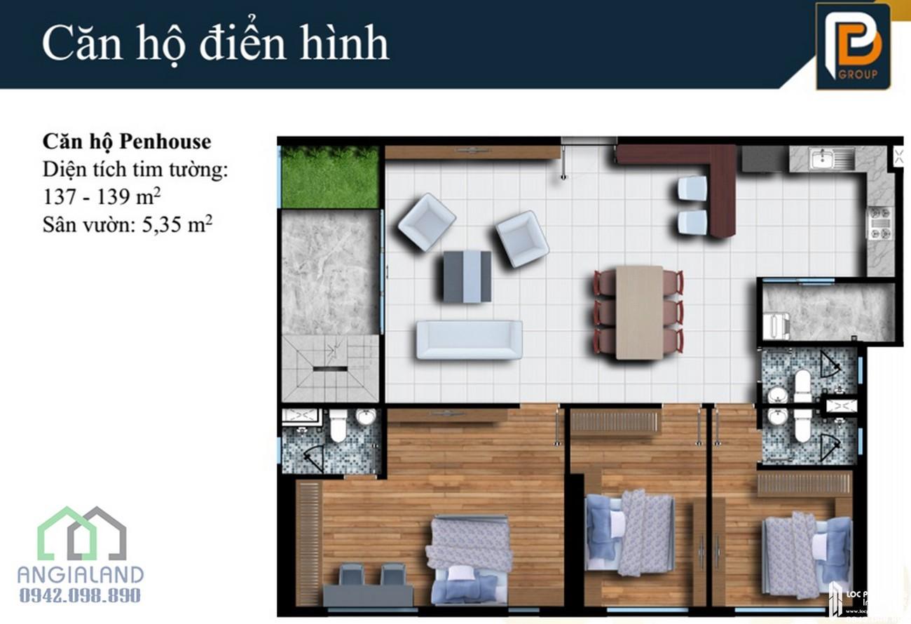 Thiết kế dự án căn hộ chung cư Phú Đông Smart City Dĩ An Đường ĐL Độc Lập chủ đầu tư Phú Đông Group