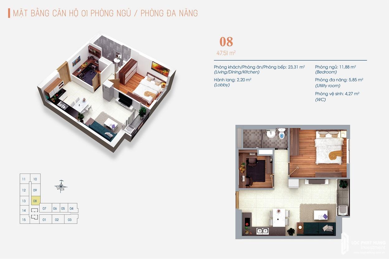 Thiết kế dự án Căn Hộ chung cư Viva Plaza Quan 7 Đường Nguyễn Lương Bằng