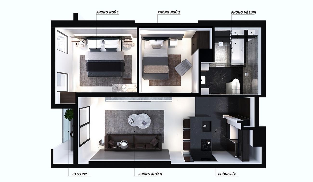 Thiết kế dự án căn hộ Nagomi Sông hàn Đà Nẵng