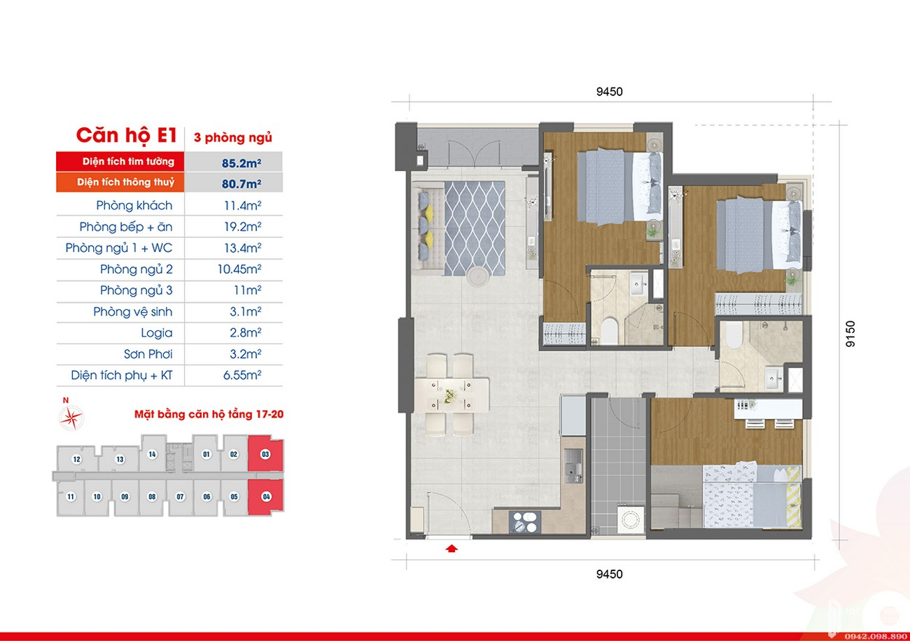 Thiết kế dự án căn hộ West Intela Quận 8