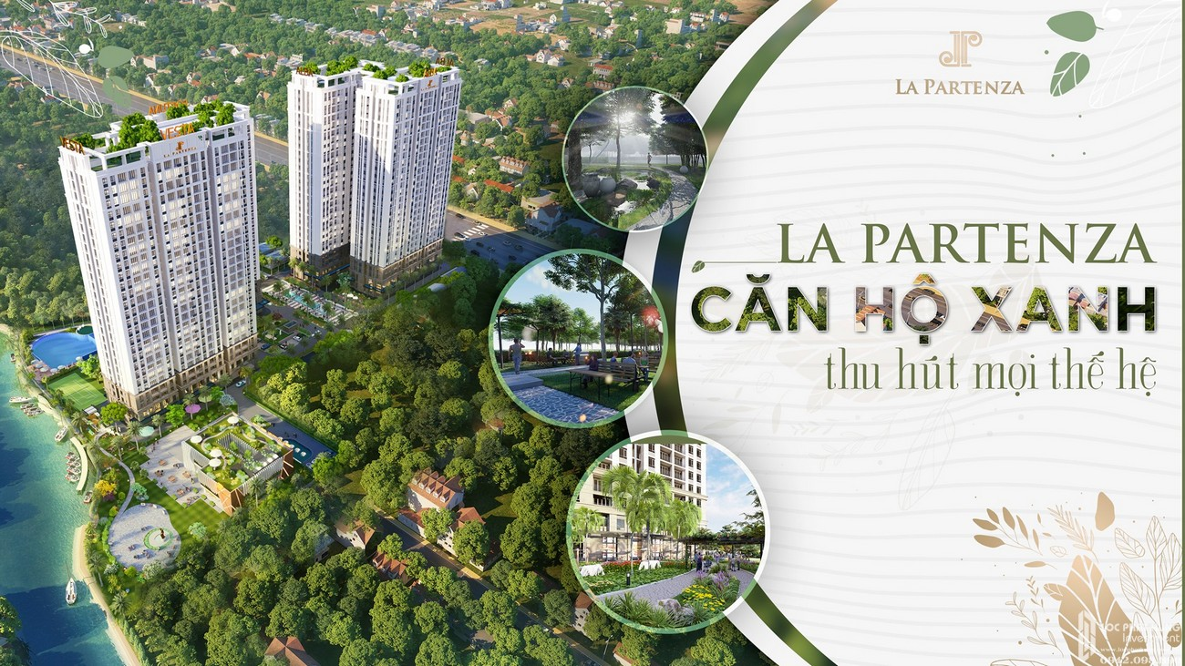 Lựa chọn đúng chuẩn căn hộ xanh tại La Partenza Nhà Bè