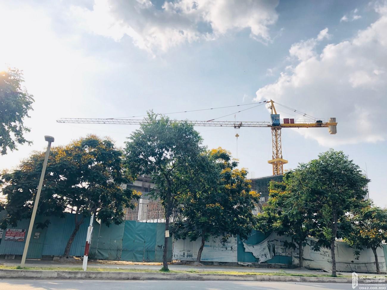 Tiến độ xây dựng căn hộ + Officetel dự án Viva Plaza 03/2020 – Nhận ký gửi mua bán + Cho thuê