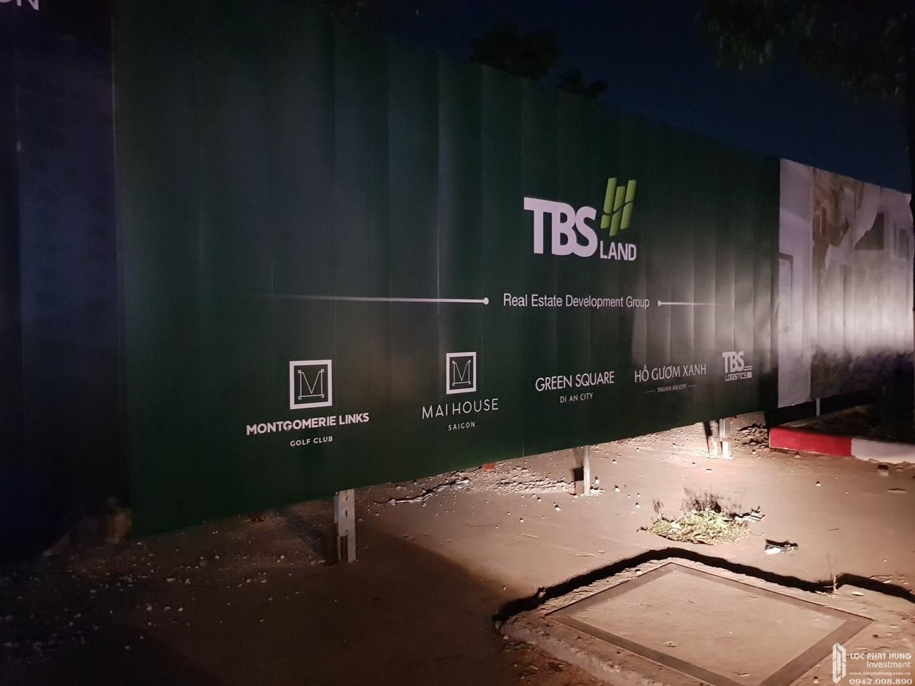 Tiến độ dự án Căn Hộ chung cư Green Square 03/2020 Dĩ An Đường QL 1K chủ đầu tư TBS Land