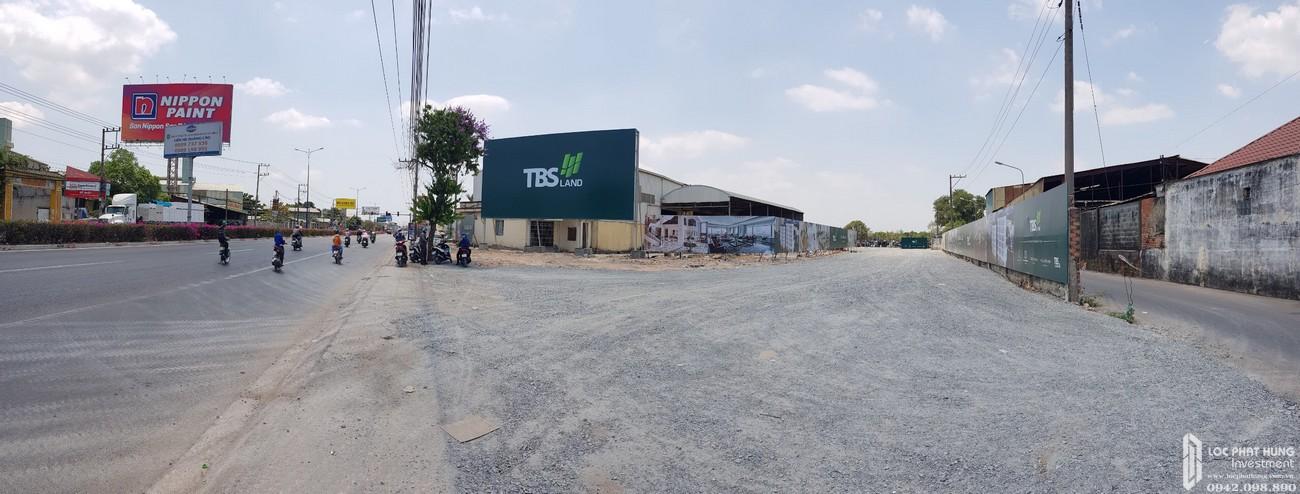 Tiến độ dự án căn hộ chung cư Hồ Gươm Xanh Thuận An City Thuận An Đường 136 ĐL Bình Dương chủ đầu tư TBS Land