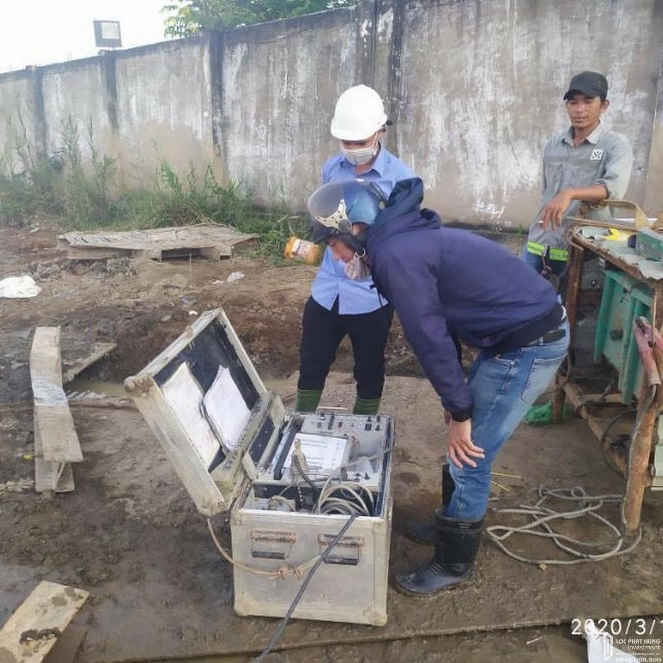 Tiến độ dự án căn hộ La Partenza Nhà Bè 15/03/20