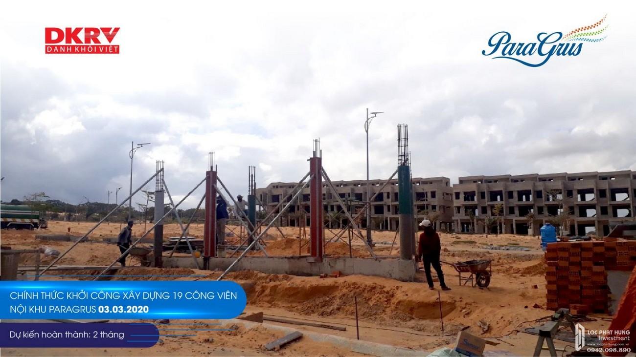 Tiến độ dự án khu đô thị KN Paradise Cam Ranh 03/2020