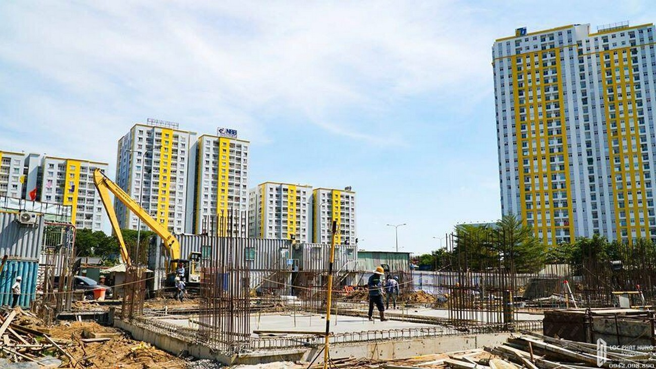 Tiến độ dự án căn hộ High Intela Quận 8 tháng 03/2020