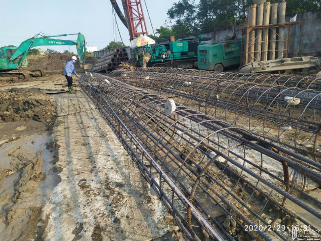 Tiến độ xây dựng dự án chung cư La Partenza 02/2020 – Nhận mua bán + ký gửi + Cho Thuê