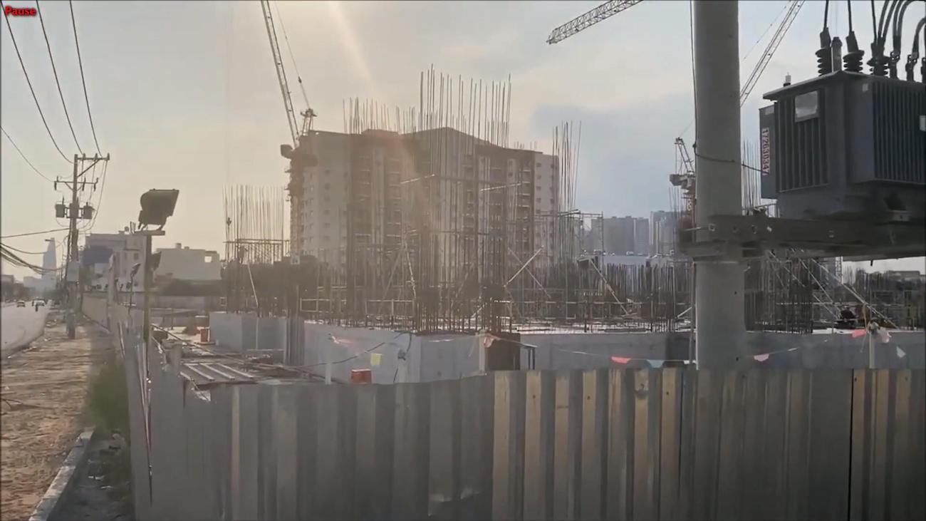 Tiến độ xây dựng dự án Laimian City