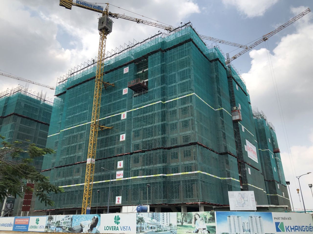 Tiến độ xây dựng căn hộ dự án Lovera Vista tháng 02/2020 – Nhận ký gửi mua bán + Cho thuê