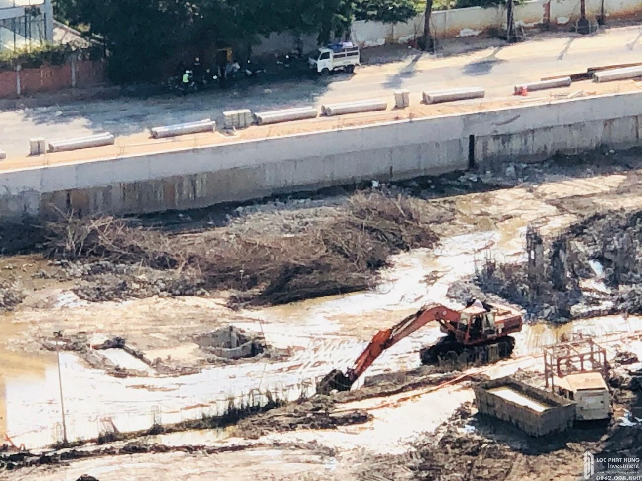 Tiến độ dự án căn hộ Sunshine Diamond River quận 7 03/2020