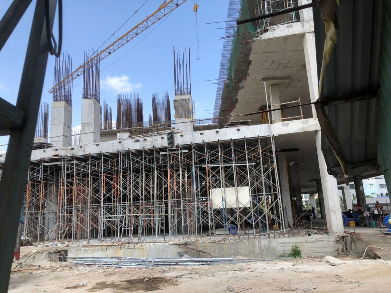 Tiến độ dự án căn hộ chung cư Viva Plaza đường Nguyễn Lương Bằng quận 7