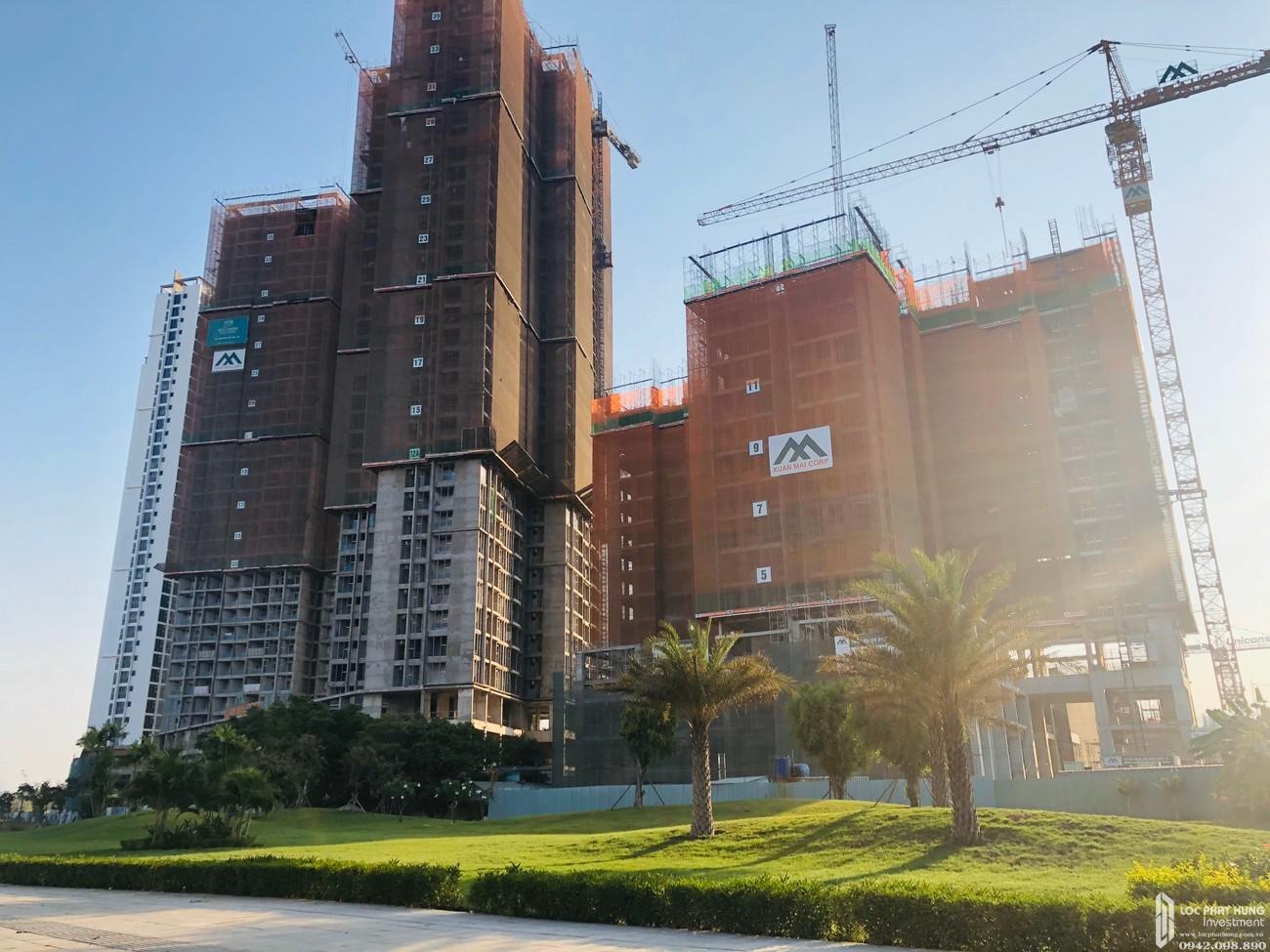 Tiến độ xây dựng dự án căn hộ chung cư Eco Green Sài Gòn 14/03/2020