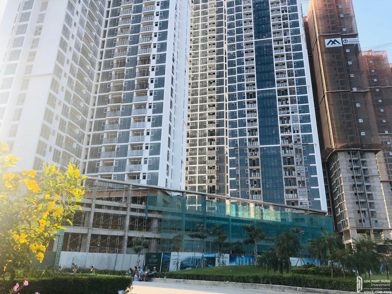 Tiến độ xây dựng dự án căn hộ Eco green Sài Gòn 14/03/2020