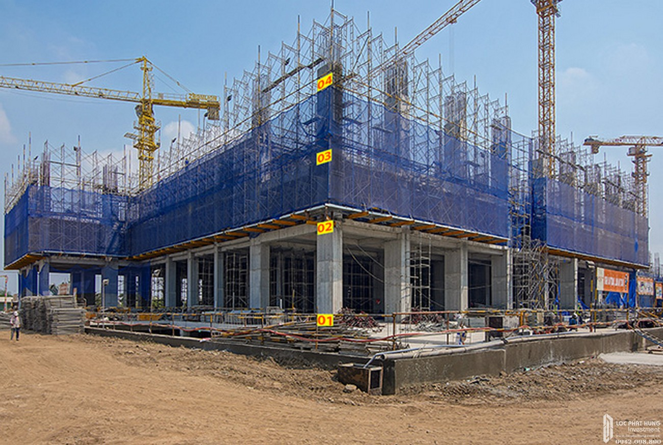 Tiến độ xây dựng dự án căn hộ Q7 Sai Gon Riverside Complex 20-02-2020