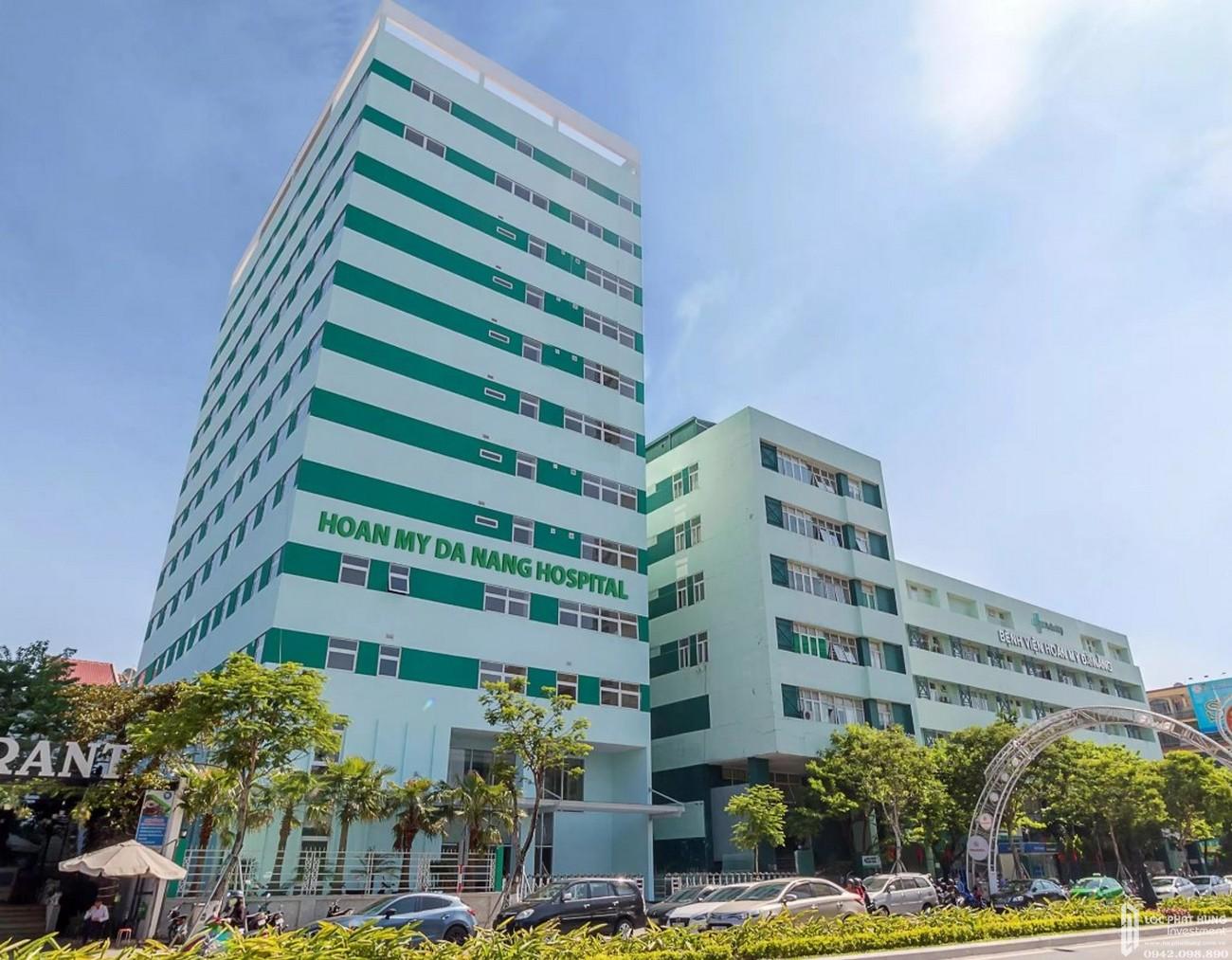 Bệnh viện Hoàn Mỹ Đà Nẵng cách dự án Nagomi khoảng 5 phút di chuyển