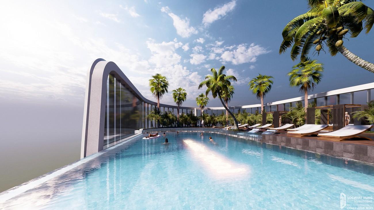 Tiện ích tầng mái dự án căn hộ Sunshine Diamond River Quận 7 đường Đào Trí