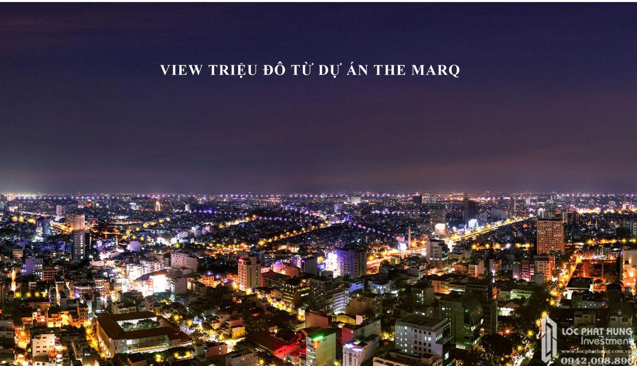 View nhìn triệu đô từ dự án căn hộ The Marq Quận 1