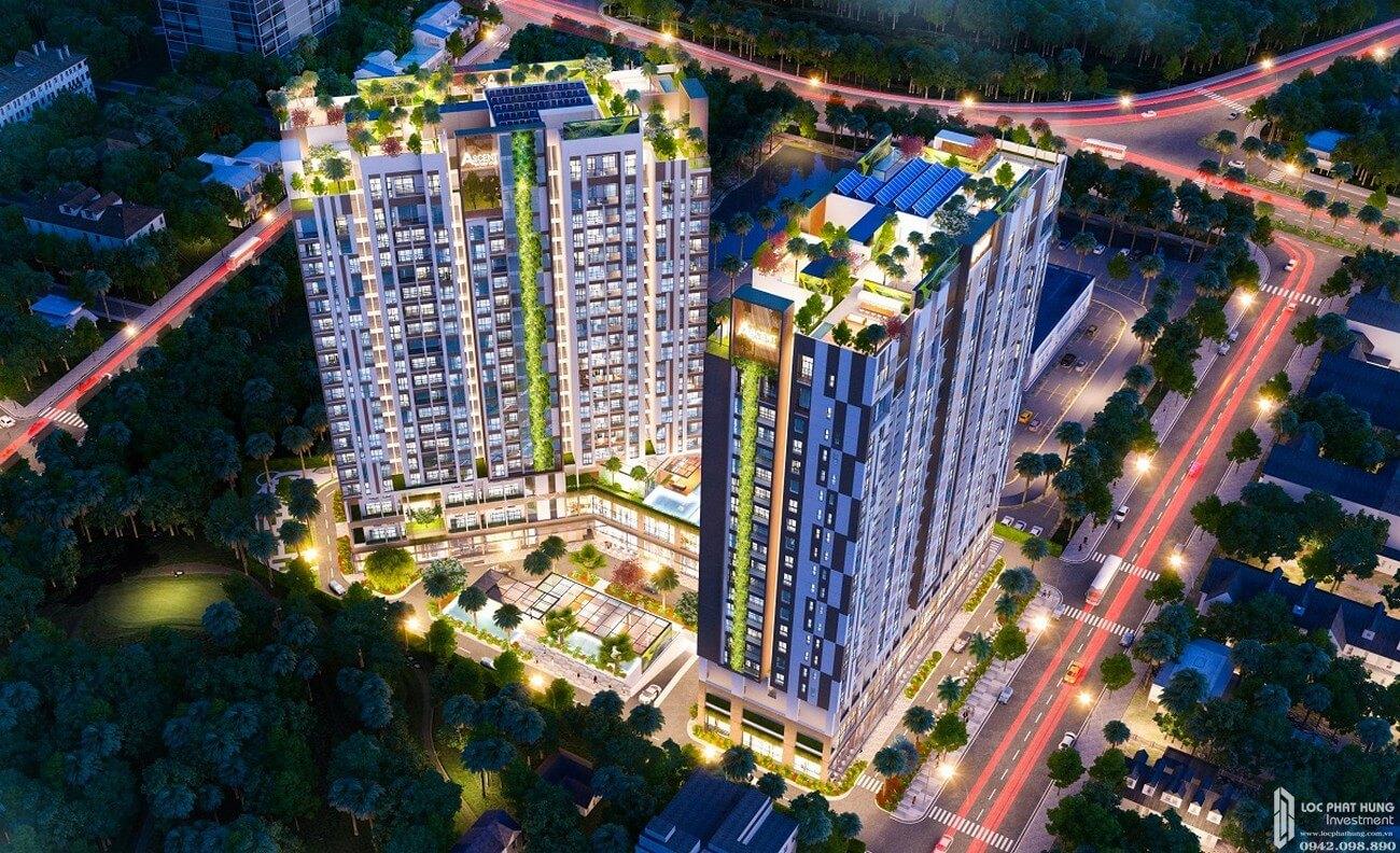 Phối cảnh tổng thể dự án căn hộ cao cấp Ascent Garden Homes, chung cư quận 7
