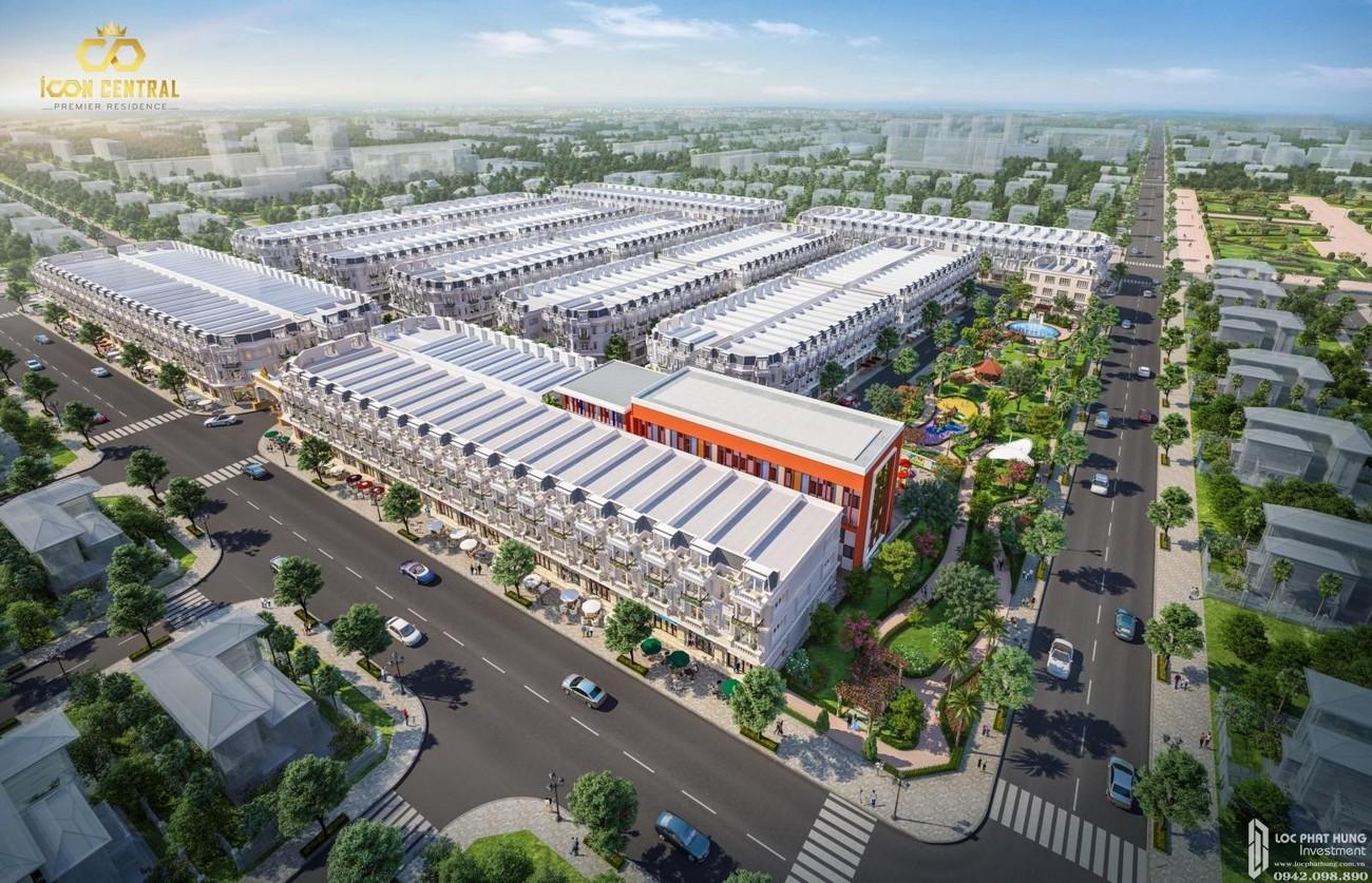 Dự án Icon Central DĨ An - hạ tầng nội khu hoàn thiện, sổ hồng riêng thanh toán vô thời hạn.