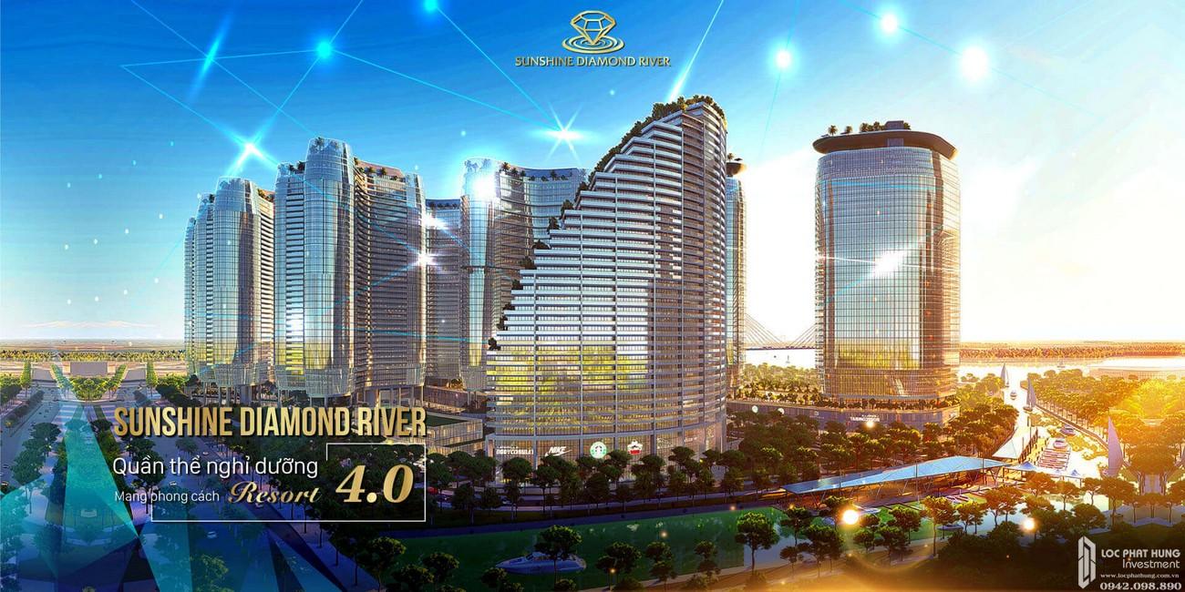 Phối cảnh tổng thể dự án Sunshine Diamond River Sài Gòn