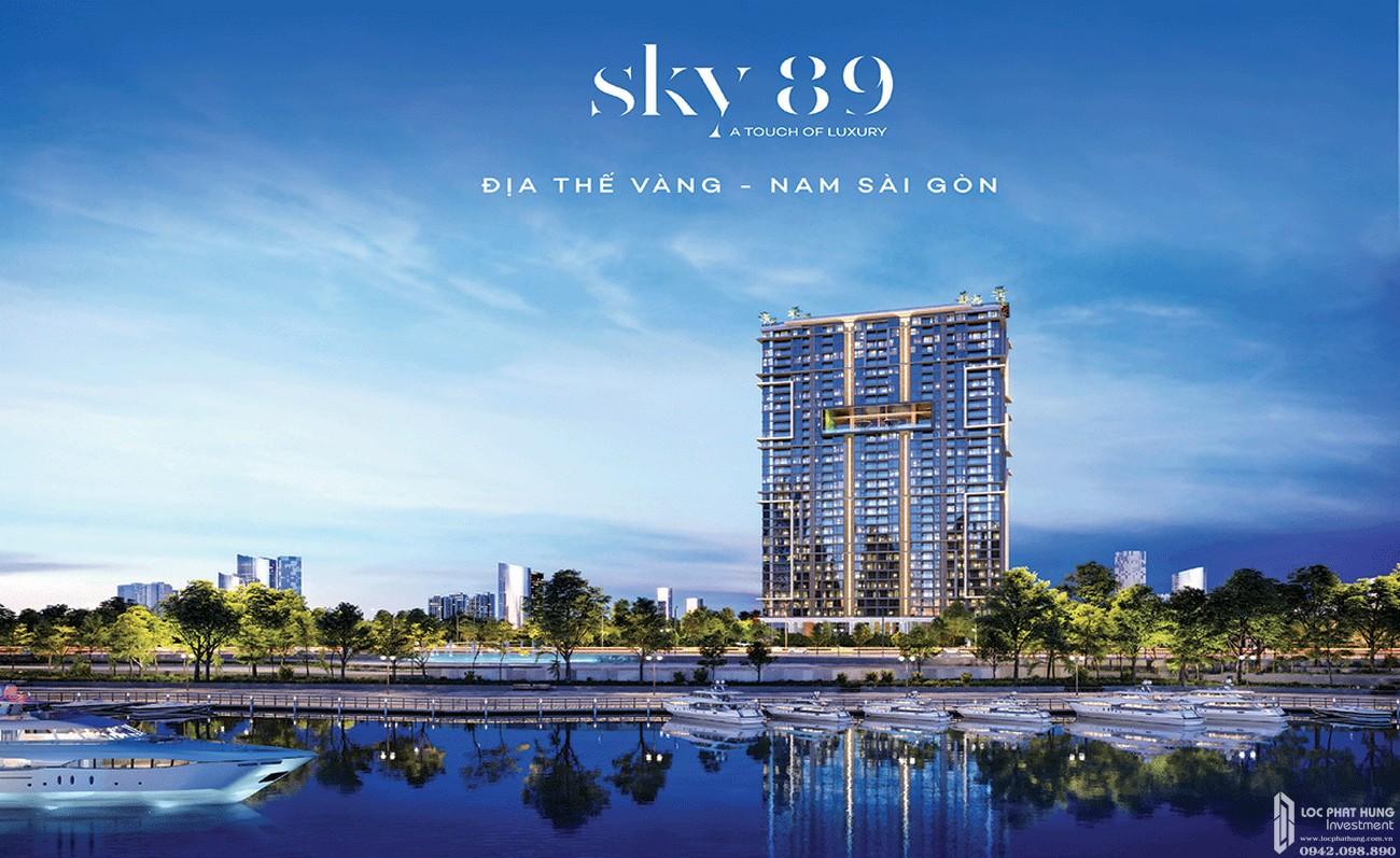 Phối cảnh tổng thể dự án căn hộ cao cấp Sky 89