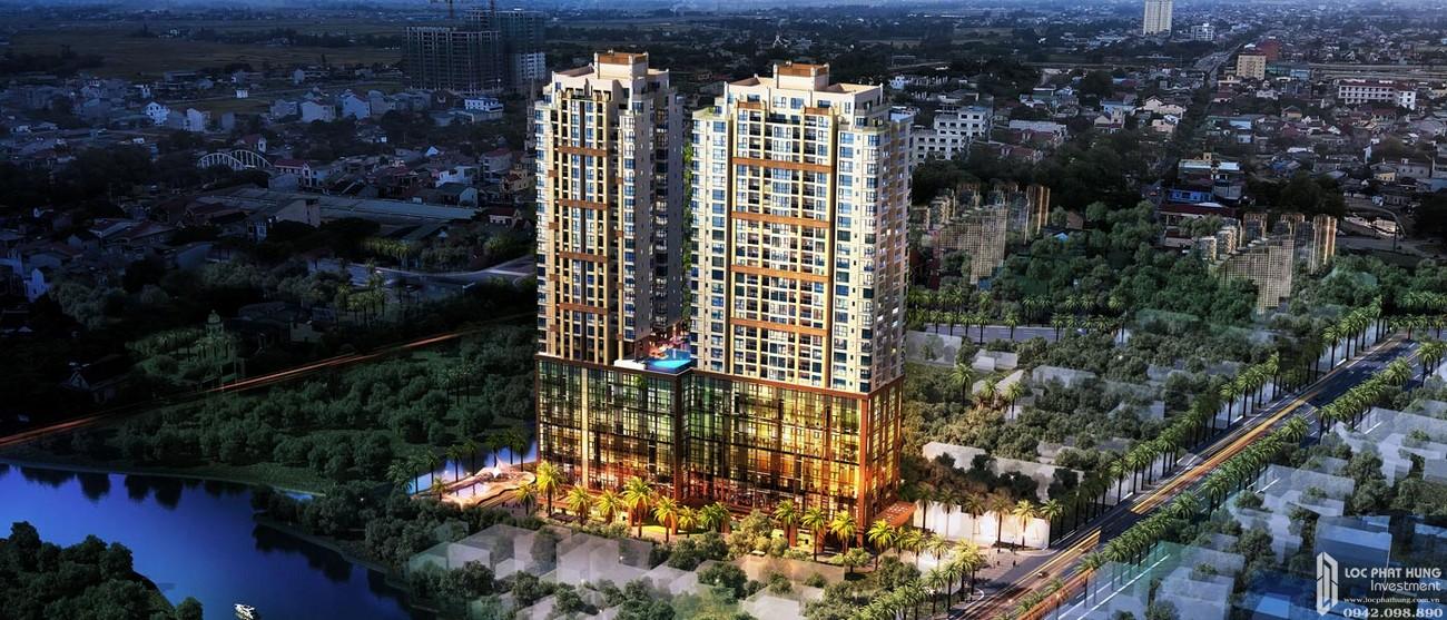 Phối cảnh tổng thể dự án căn hộ cao cấp South Gate Tower