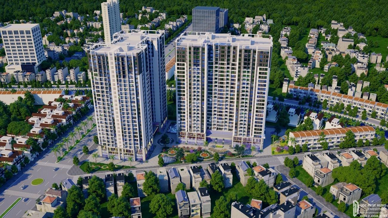 Phối cảnh tổng thể dự án căn hộ cao cấp Pegasuite 3