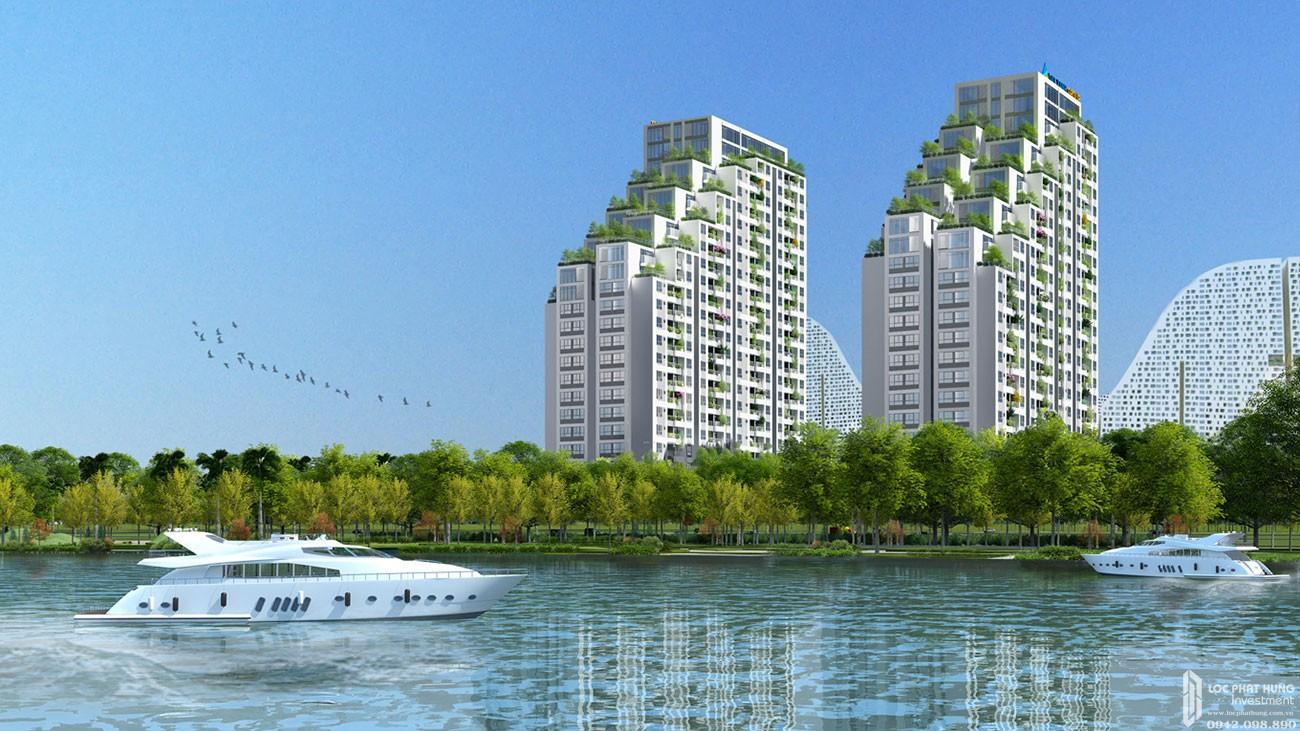 Phối cảnh tổng thể dự án căn hộ cao cấp Lux Star