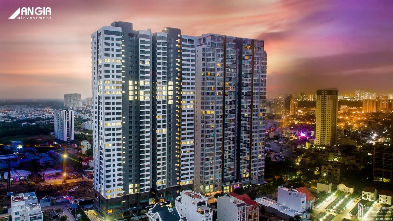 Phối cảnh tổng thể dự án căn hộ cao cấp An Gia Skyline