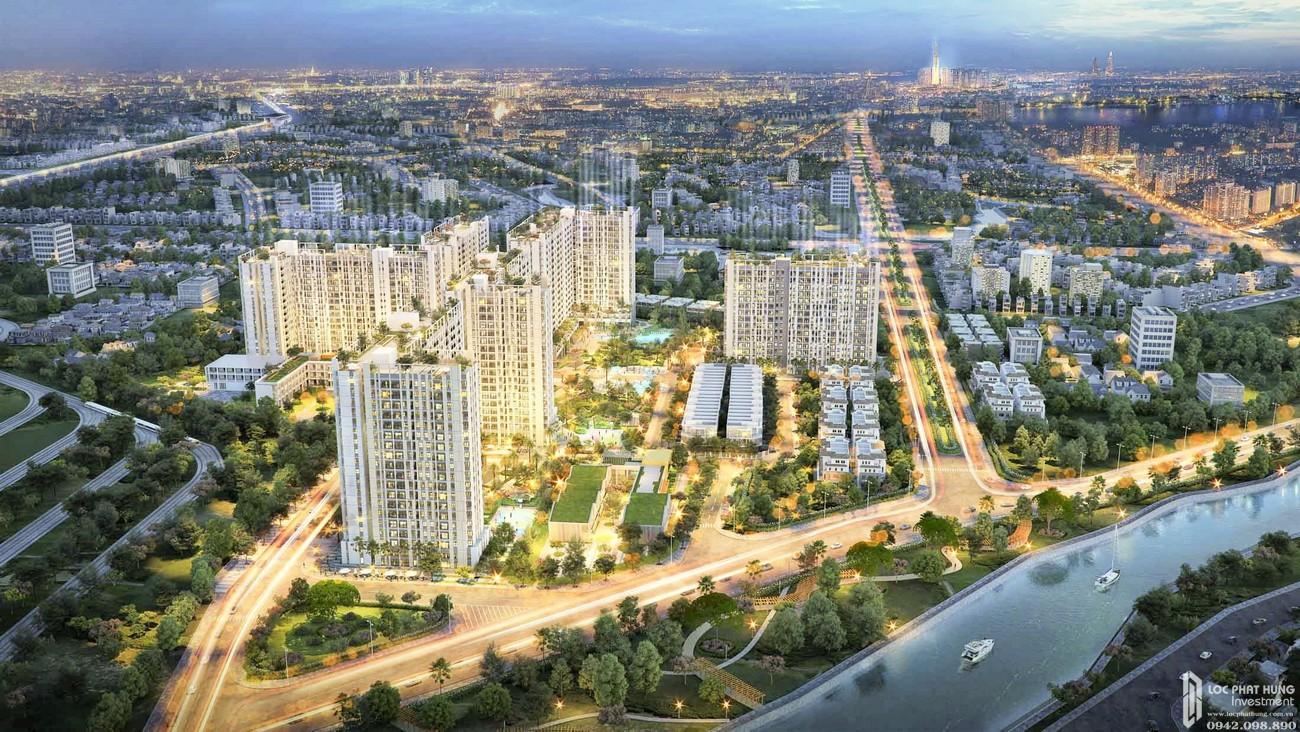 Thuận An lên thành phố được xem là thời điểm tốt để đầu tư bất động sản khu vực này.