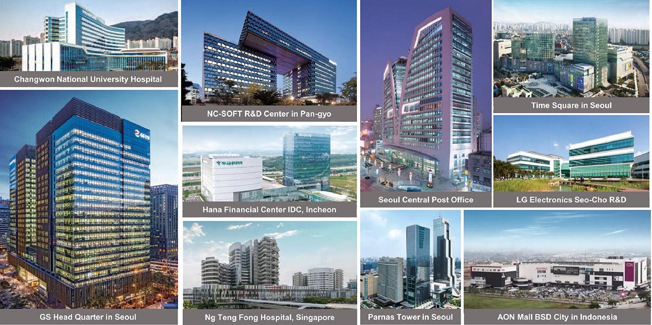 Các dự án đẳng cấp mà chủ đầu tư GS E&C thực hiện tại Hàn Quốc