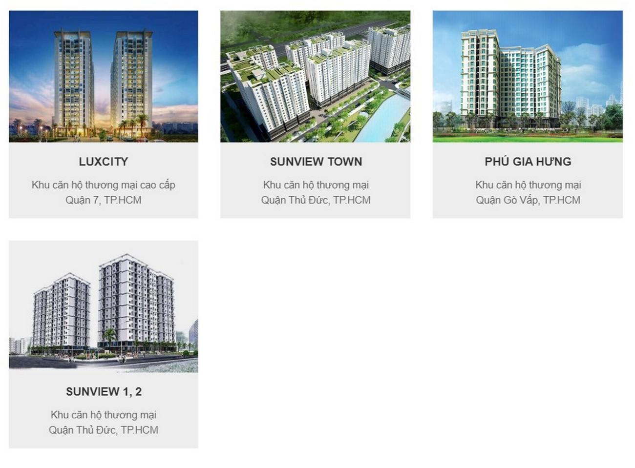 Một số dự án nổi bật của Chủ đầu tư dự án nhà phố, biệt thự  Gem Sky World - Đất Xanh Group