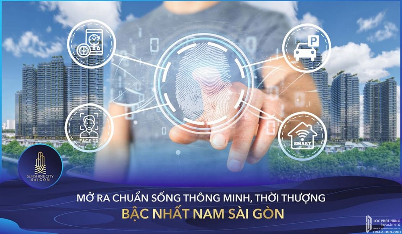 Công nghệ 4.0 tại dự án căn hộ Sunshine City Sài Gòn