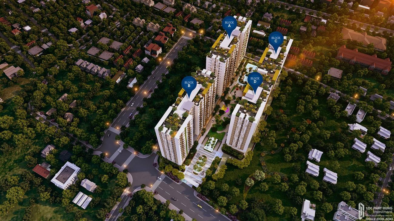 Mặt bằng dự án căn hộ chung cư Him Lam Phú An Quận 9 Đường 32 Thủy Lợi chủ đầu tư Him Lam