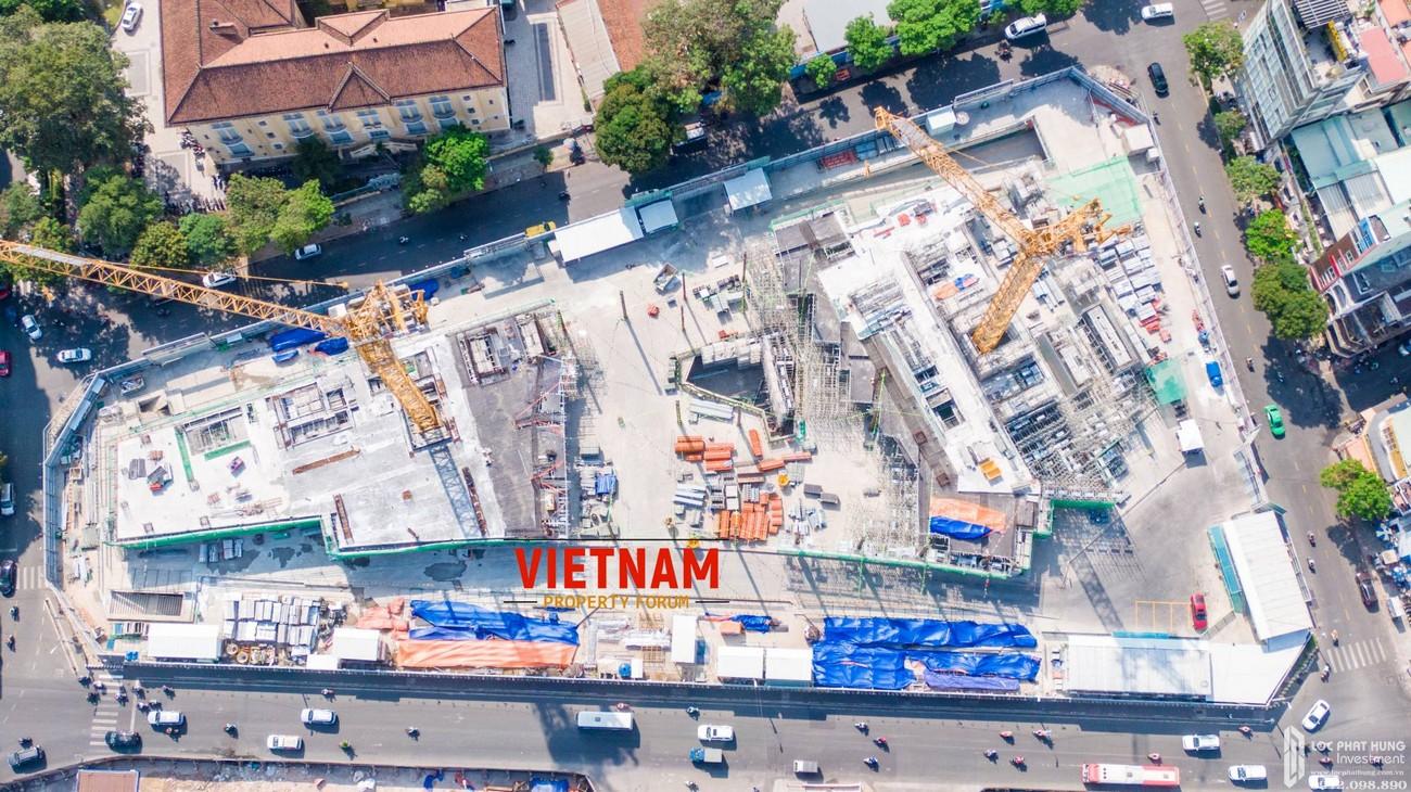 Mặt bằng dự án căn hộ chung cư The Spirit Of Saigon Quận 1 Đường 1 Phạm Ngũ Lão chủ đầu tư Bitexco