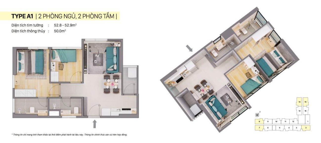 Thiết kế chi tiết căn hộ Citi Alto Quận 2