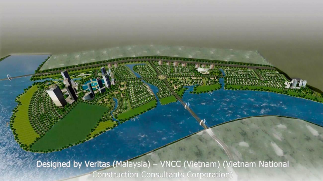 Mặt bằng dự án khu đô thị Long Tân - DIC Wisteria City Đồng Nai